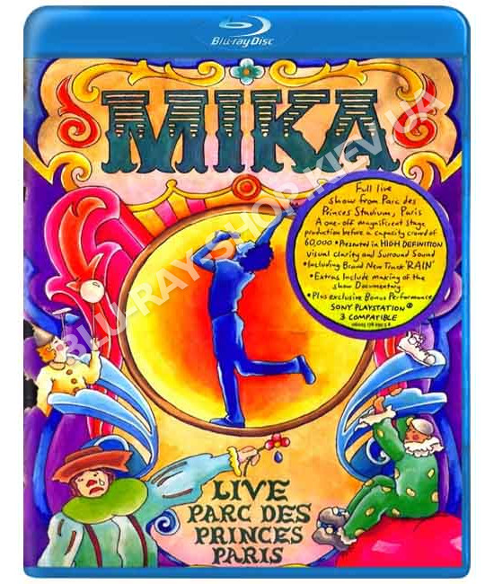 Mika: One Night In Paris - Live Parc Des Princes [Blu-Ray]