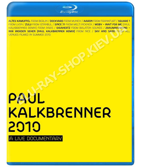 Paul Kalkbrenner: A Live Documentary [Blu-Ray]