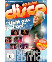 40 Jahre Disco - Die Fan-Edition [3 DVD]