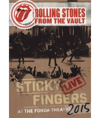 The Rolling Stones - From The Vault - Sticky Fingers: Live at the Fonda Theater 2015 [DVD]