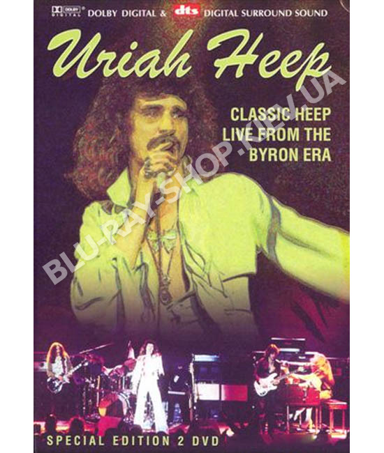 Uriah Heep - Classic Heep Live From The Byron Era [2 DVD]