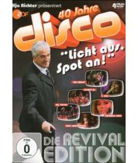 """40 Jahre disco """"Licht aus, Spot an!"""" (Die Revival Edition) [4 DVD]"""