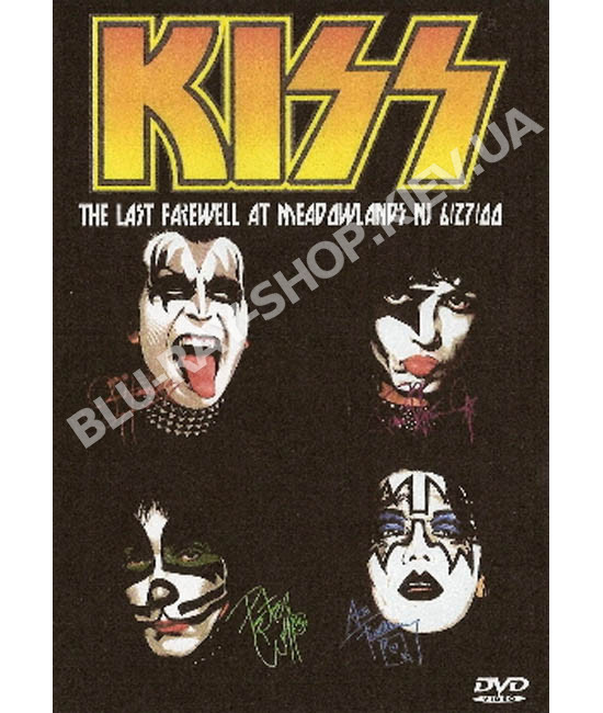 The Last Kiss. Last Farewell at Meadowlands NJ [DVD]