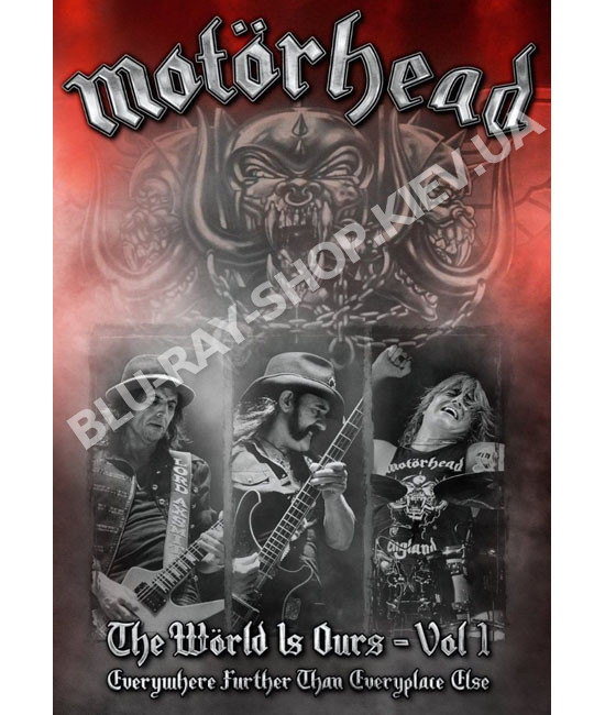 Motörhead - The Wörld Is Ours - Vol.1: Everywhere Further Than Everyplace Else [DVD]
