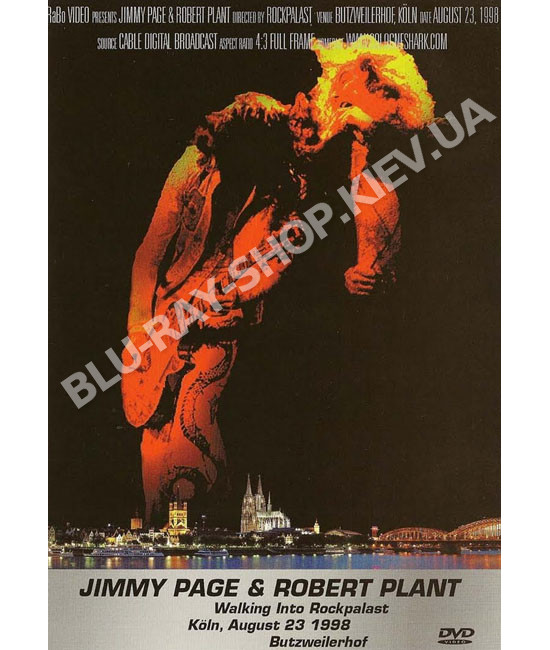 Jimmy Page & Robert Plant - Rockpalast [DVD]