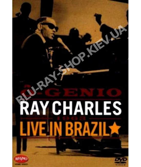 Ray Charles - O-Genio (Live in Brazil, 1963) [DVD]