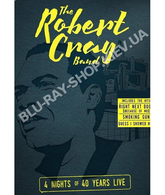 The Robert Cray Band - 4 Nights of 40 Years Live [DVD]