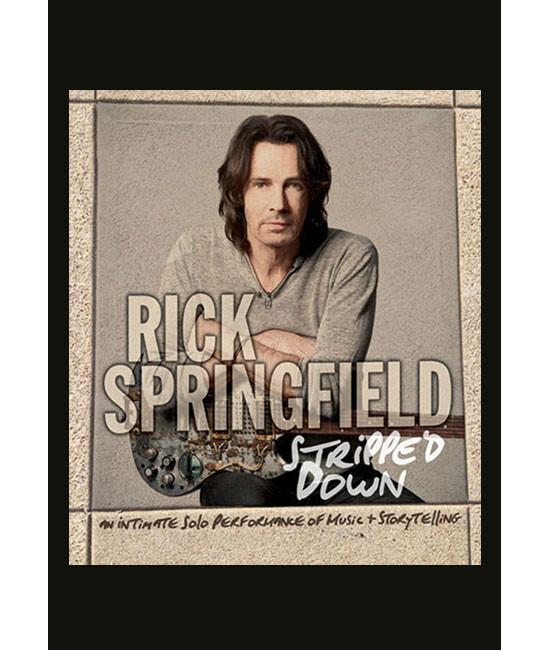 Rick Springfield - Stripped Down [DVD]