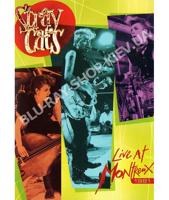 Stray Cats - Live At Montreux 1981 [DVD]