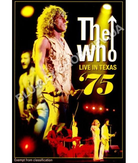 The Who - Live in Texas 75 [DVD]