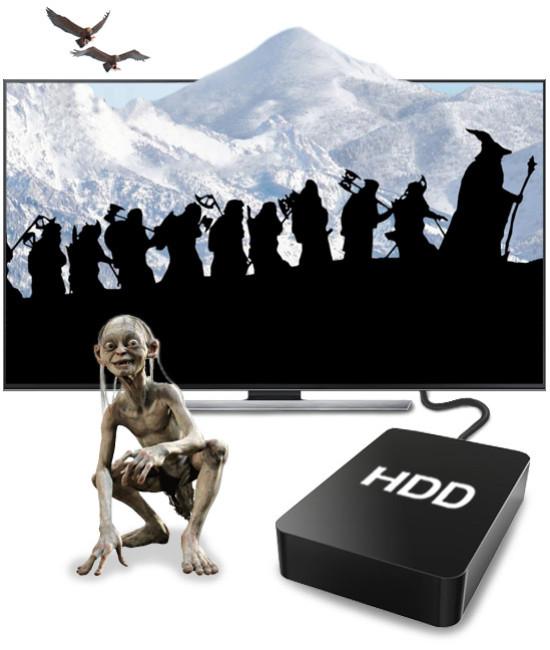 Художественные фильмы 3D (2Тб)
