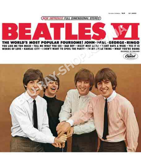The Beatles – Beatles VI (2014) (CD Audio)