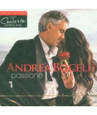 Andrea Bocelli – Passione (Deluxe edition) (CD+DVD, Digipak) (CD Audio)