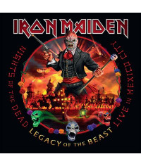 Iron Maiden – Nights Of The Dead, Legacy Of The Beast: Live In Mexico City (2cd) (2020) (CD Audio)