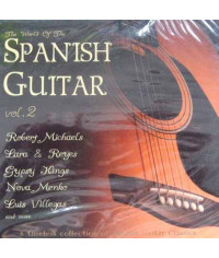 Сборник — The World Of The Spanish Guitar vol.2 (2 CD) (digipak)