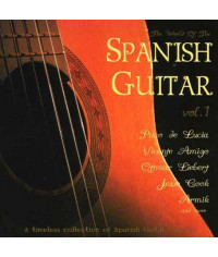 Сборник — The World Of The Spanish Guitar vol.1 (2 CD) (digipak)