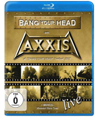 Axxis: Bang Your Head With Axxis - Live (2017) [Blu-ray]