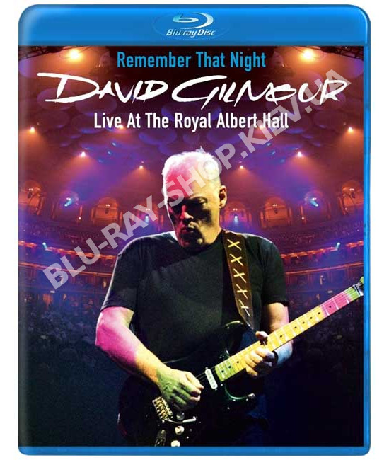 David Gilmour: Remember That Nigh [2 Blu-Ray]