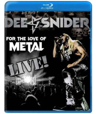 Dee Snider: For The Love Of Metal - Live! [Blu-ray]