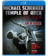 Michael Schenker: Temple of Rock - Live In Europe [Blu-Ray]
