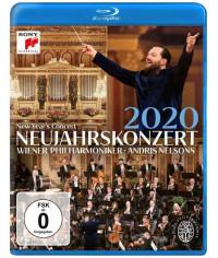 Новогодний концерт Венского филармонического оркестра [Blu-ray]