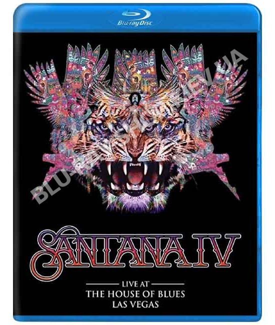 Santana IV: Live at The House of Blues, Las Vegas [Blu-Ray]