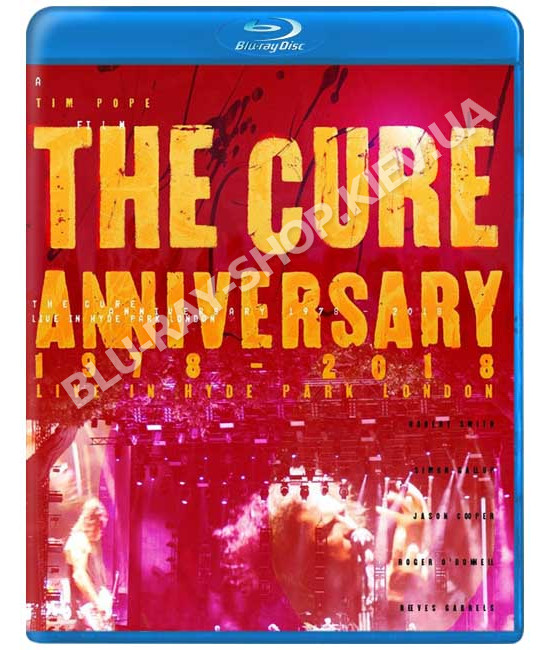 The Cure - 40 Live (Curaetion 25 + Anniversary) [2 Blu-Ray]