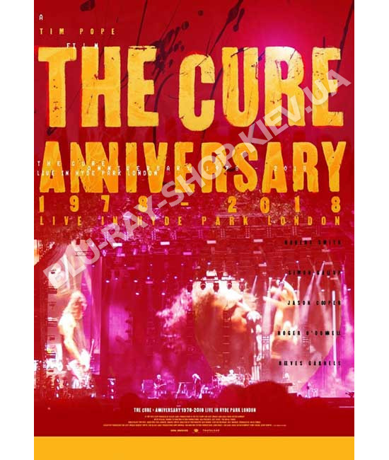 The Cure - 40 Live (Curaetion 25 + Anniversary) [2 DVD]