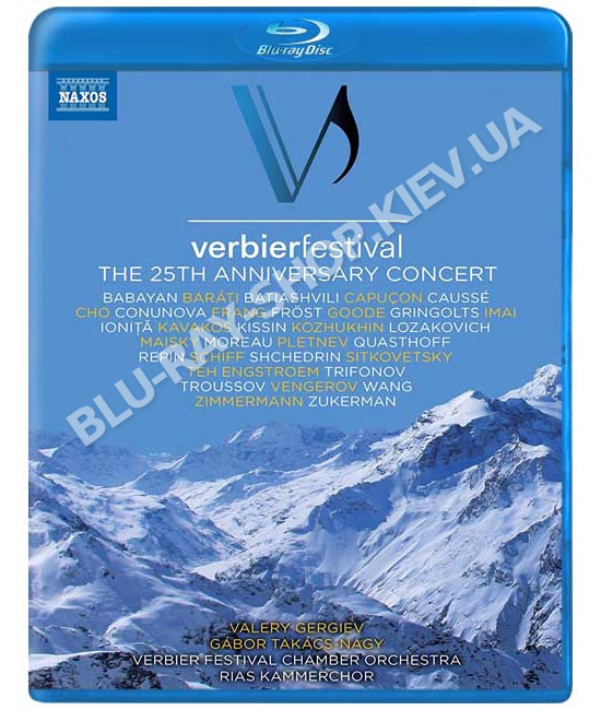 Verbier Festival: The 25th Anniversary Concert (2018) [Blu-ray]