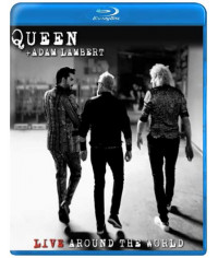 Queen + Adam Lambert: Live Around the World [Blu-ray]