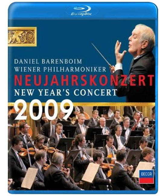 Новогодний концерт Венского филармонического оркестра 2009  [Blu-ray]