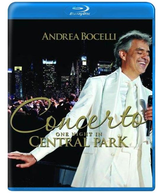 Андреа Бочелли: Вечерний концерт в Центральном парке Нью-Йорка [Blu-ray]