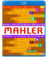Gustav Mahler: Symphonies 1-10  [11 Blu-ray]