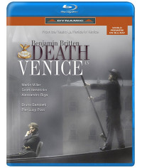 Бенжамин Бриттен - Смерть в Венеции [Blu-ray]