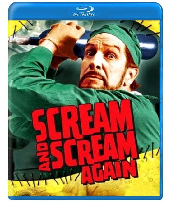 Кричи и опять кричи [Blu-ray]