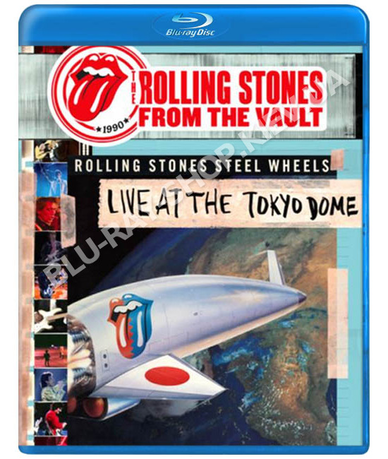 Rolling Stones - From The Vault - Live At The Tokyo Dome 1990 [Blu-ray]