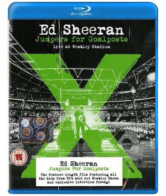 Ed Sheeran - Jumpers For Goalposts: Live At Wembley Stadium [Blu-ray]