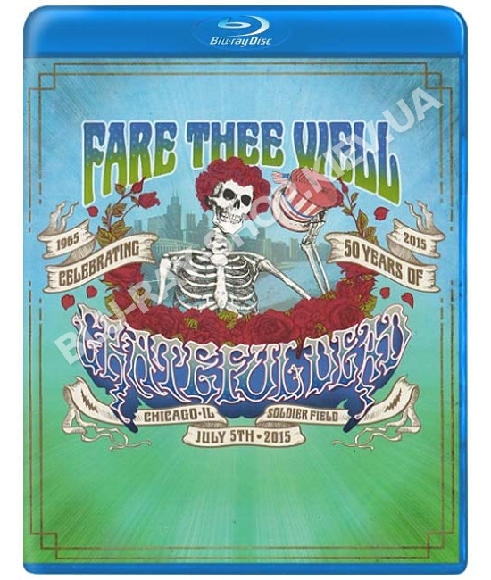 Grateful Dead - Fare Thee Well [2 Blu-ray]