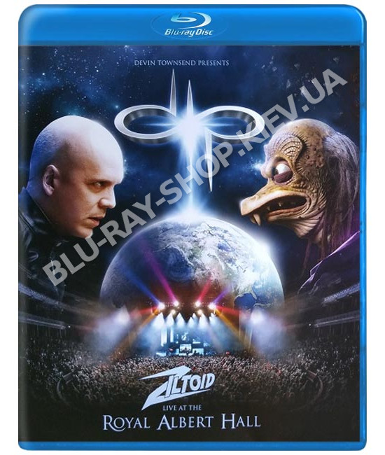 Devin Townsend Presents: Ziltoid Live At The Royal Albert Hall Limited Edition [Blu-ray]