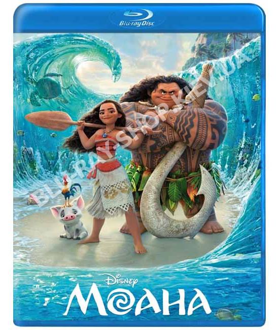 Моана [Blu-ray]