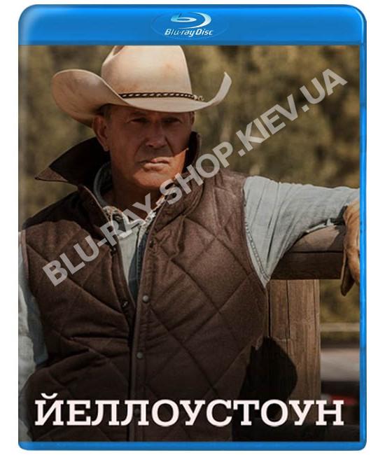 Йеллоустоун (1-3 сезон) [3 Blu-ray]