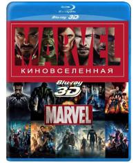 Киновселенная Марвел (Коллекция) [14 3D/2D Blu-ray]