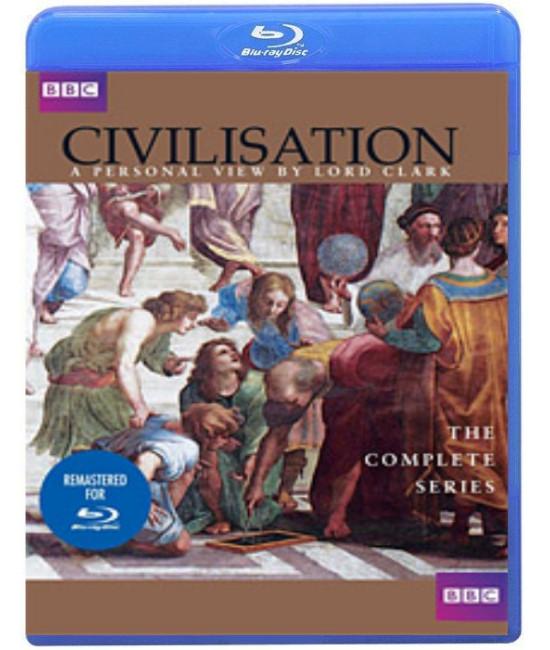 BBC: Цивилизация с точки зрения лорда Кеннета Кларка [Blu-Ray]