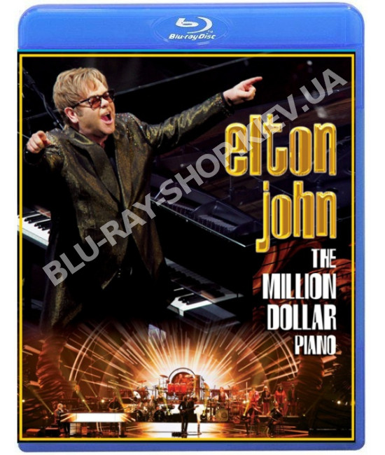 Elton John: The Million Dollar Piano [Blu-ray]