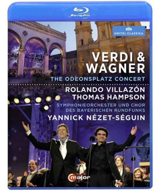 Verdi & Wagner: The Odeonsplatz Concert [Blu-ray]
