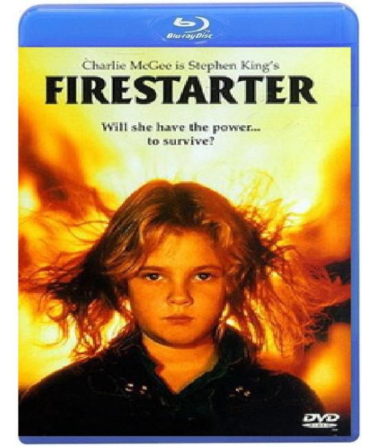Воспламеняющая взглядом (Порождающая огонь) [Blu-ray]