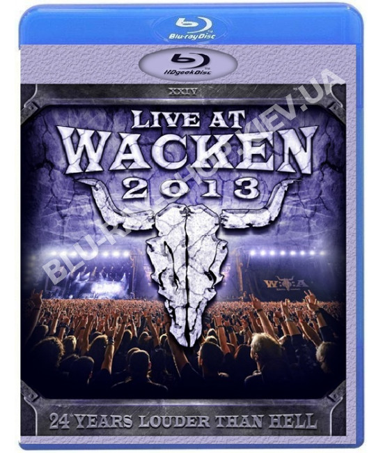 VA - Live at Wacken {3-Disc Edition} [Blu-ray]
