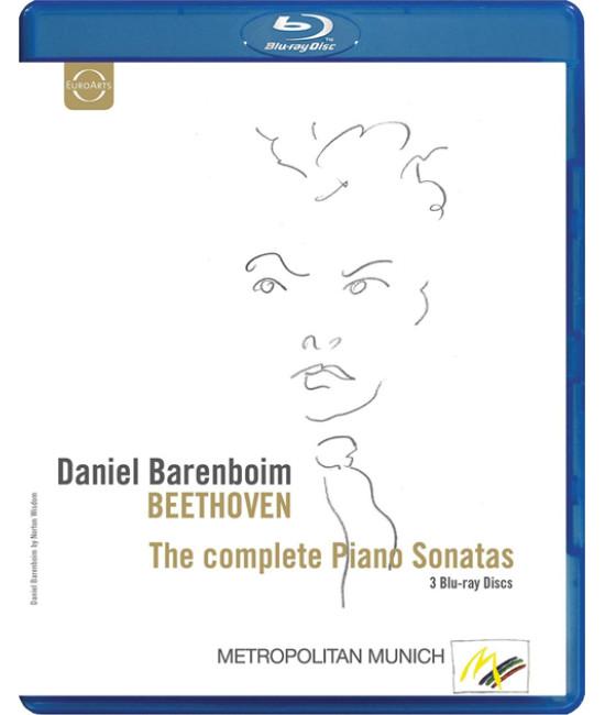 Ludwig van Beethoven: Complete Piano Sonatas {3-Disc} [Blu-ray]