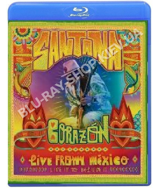 Santana. Corazon:Live from Mexico.Live It To Believe It[Blu-ray]