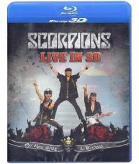 Scorpions - Live In 3D [3D Blu-Ray]